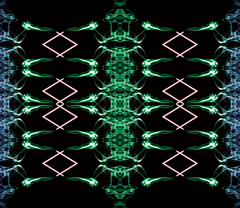 Spinal Tapestry NFT artwork by James Conn